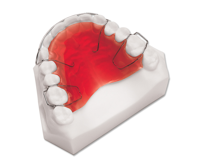 a photo of a mobile dentures